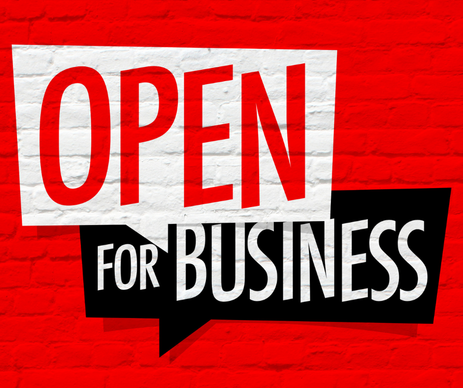 Open for Your Business