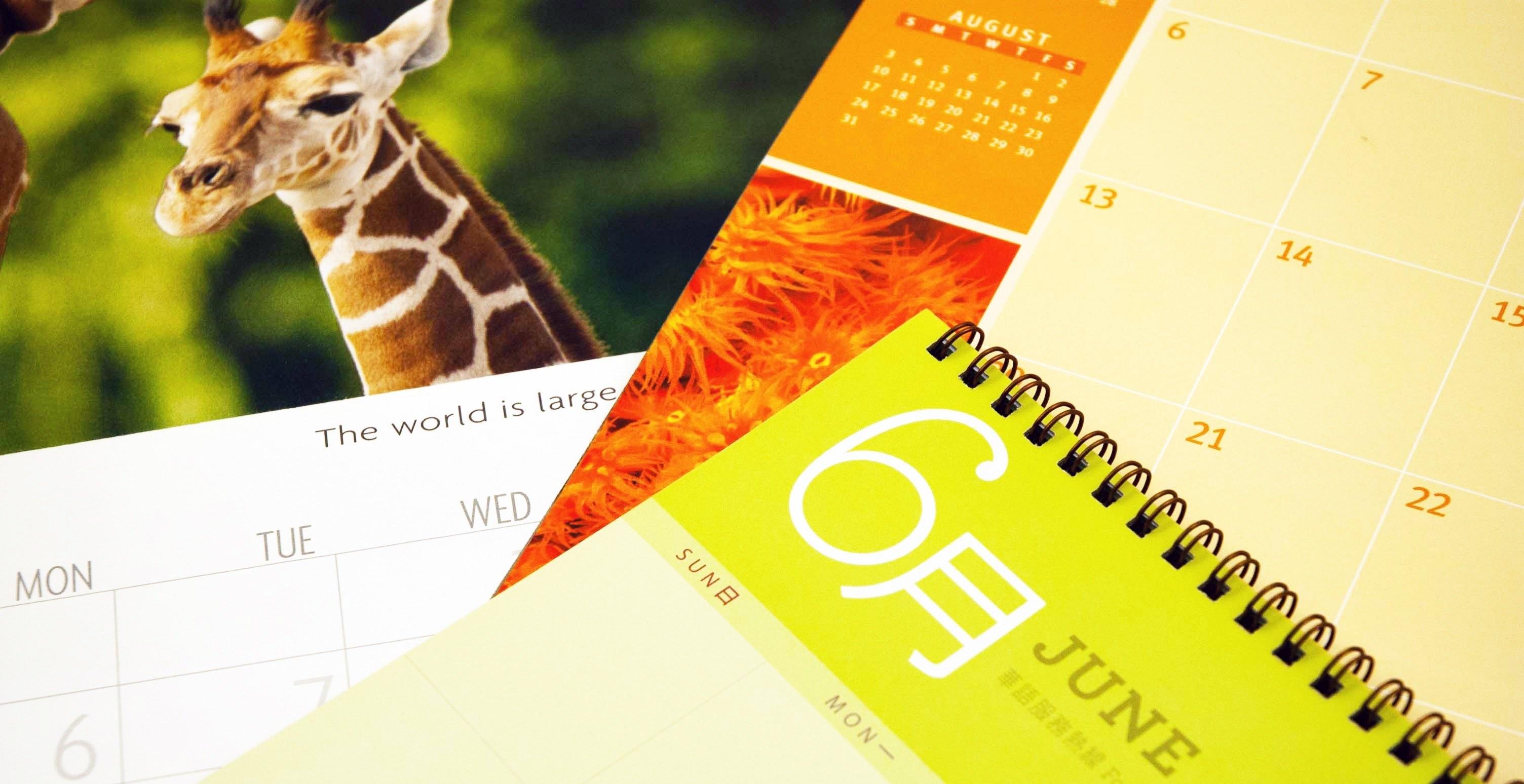 Calendar Printing Season Is Here - Don't Miss Your Deadline!